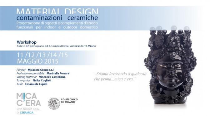 Material design. Contaminazioni Ceramiche