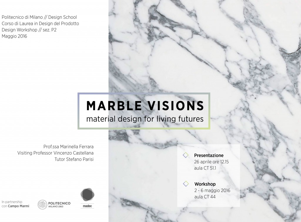 locandina MARBLE VISIONS
